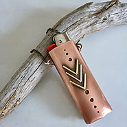 Light My Fire Recycled Mixed Metal Lighter Case, L.A.M. Jewelry