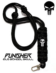 PUNISHER Accessory Neck Lanyard + Key Chain Lanyard + Ecig Necklace + I.D./Badge Holder *Color Options* oLd sChOoL Sk...