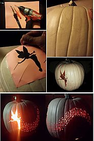 DIY- Tinkerbell Dust Pumpkin for the Win