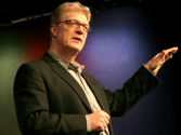 Ken Robinson says schools kill creativity