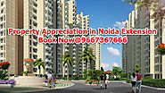Website at http://www.propertyinnoidaextension.co.in/blog/property-appreciation-in-noida-extension/