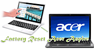 How Can We Reformat An Acer Aspire Computer?