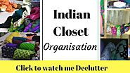 Wardrobe Organisation India | Almirah KI SAFAI | Indian closet organisation