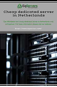 Cheap Dedicated Server in Netherlands