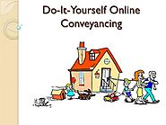 Do-It-Yourself Online Conveyancing