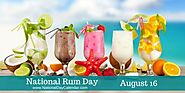 NATIONAL RUM DAY – August 16