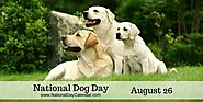 NATIONAL DOG DAY – August 26
