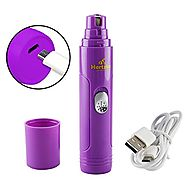 Electric Pet Nail Grinder by Hertzko – For Gentle and Painless Paws Grooming, Trimming, Shaping, and Smoothing for Do...