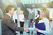 What are the steps followed by the corporate recruiters to select efficient employees