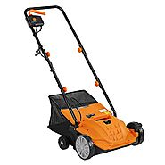 "VonHaus 2 in 1 Lawn Dethatcher & Aerator - 12 Amp 13"" Corded Electric with 4 Working Depths"