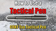 How to Use a Tactical Pen for Self Defense