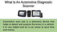 Automotive Scan Tool | AUTO-I 100