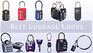 10 Best Luggage Locks of 2017 - Secure Your Luggage During Traveling