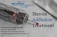 Heroin Drug Addiction Treatment Center Greenville, Spartanburg