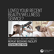 The Service - Personal Beauty Wellness Salon Appointment Booking App