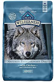 BLUE Wilderness Adult Grain-Free Chicken Dry Dog Food 24-lb