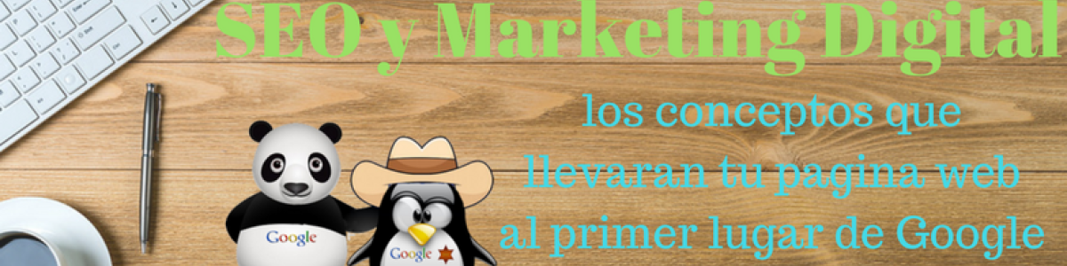 Headline for Marketing digital y Posicionamiento Web (SEO)