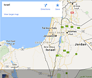 Find Israel in Google Map