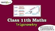 Trigonometry Important Chapter Class 11 Maths NCERT Solutions