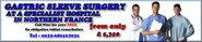 Gastric Sleeve Surgery France cost less | Gastric Band Surgery France