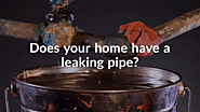 Get Your Plumbing Fixed ASAP If You Find Any Leaking Pipes