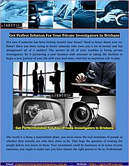 How Much Does A Private Investigators Cost In Brisbane