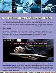 Qualified And Licensed Private Investigators in Brisbane & Gold Coast