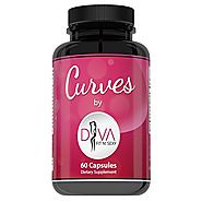 Curves Butt Enhancement Pills for Women by Diva Fit & Sexy - Fast and Effective Enlargement Product That Works - 60 C...