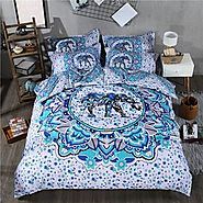 Wall Tapestry use as a Bedspread