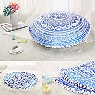 Mandala Floor Cushions are the perfect home decorator