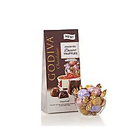 Godiva Chocolatier Wrapped Dessert Truffles, Assorted