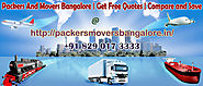 How PackersMoversBangalore.In Uses Confided In Packers And Movers In Bangalore