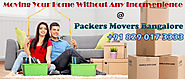 Tips To Save Some Bucks By Selecting The Right Packers And Movers Bangalore For Relocation