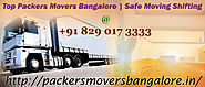 Packers And Movers Bangalore Will Have To Take Care Of Timely Delivery Of Edible Products