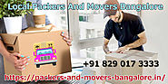 Packers And Movers Bangalore: Central Purposes Of Enlisting Skilled Help For Smooth Development