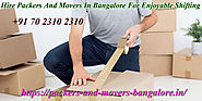 Packers And Movers Bangalore: How To Hire Packers And Movers Bangalore For Car Shifting Services And Insurance | Hire...