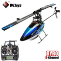 WLTOYS WL-V922 V922 6CH 2.4GHz 3 Axis 3D Flybarless RC Helicopter With GYRO Blue