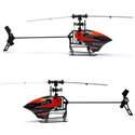 Amazon.com: NEEWER® WL-V933 2.4G 3-Axis Gyro 6 Ch Channel Flybarless Mini Size Helicopter: Toys & Games