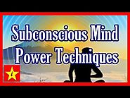 Subconscious Mind Power Techniques for Success Achievement