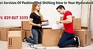 Rules To Pick The Best Packers And Movers In Hyderabad, Most Perfect Circumstance Cost