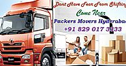 Packers And Movers Hyderabad - Quiet Moving Associations Of Packers And Movers