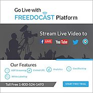 Go Live With Freedocast Platform
