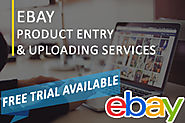 Get the Best eBay Product Data Entry and Bulk Product Upload Services