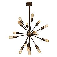 Flux 16 Light Pendant 55542-BRZ