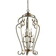Ceiling Lights Lanterns - Monroe Eight Light Foyer Chandelier 43166SGD