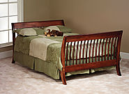 """The Manhattan"" Wood Baby Crib"