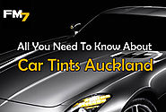 All You Need To Know About Car Tints Auckland