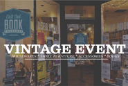 Sun. 11/10 - Vintage Sale at East End Book Exchange