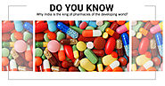 Do you know why India is the king of pharmacies of the developing world? - PillsBills.com