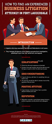 How to find an Experienced Business Litigation Attorney